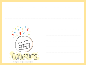 CongratsCard