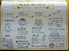 Big Agile Open Space Sketchnotes