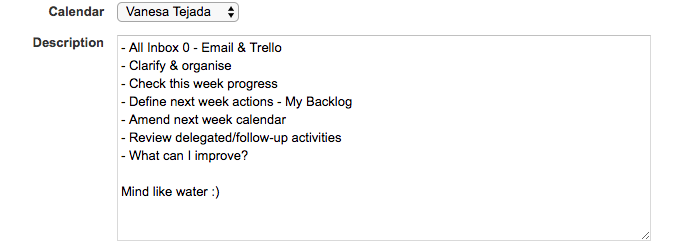 VanesaTejada_ProductividadPersonal_RevisionSemanal_Calendario